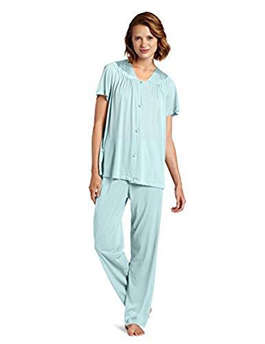 Exquisite Form Women s Coloratura Sleepwear Short Sleeve Pajama Set 90107 8c2470ed0