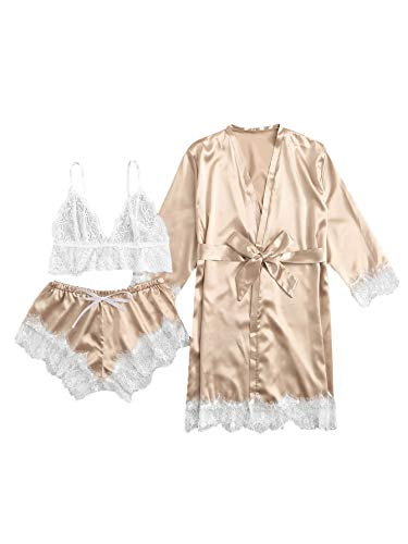 Soft silk pajamas in rose